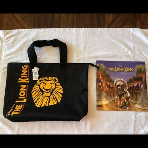 Handbags - The Lion King canvas tote with official program